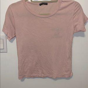 light pink yosemite campground brandy shirt